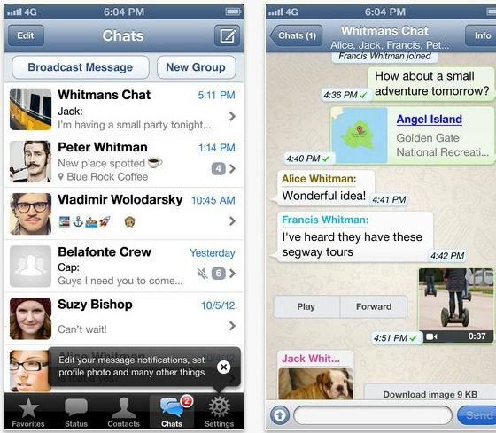 l'application WhatsApp est désormais payante