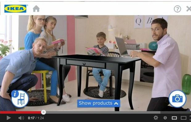 catalogue IKEA en réalité augmentée
