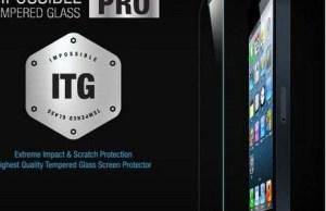 Protection en verre trempé pour impossible Pro pour iPhone 5