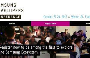 conférence développeurs Samsung