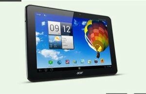 tablette Acer Iconia sous Android