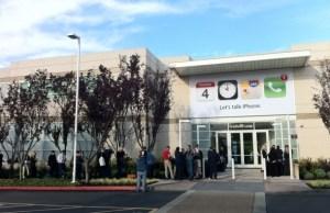 siège Apple événement presse iPhone septembre 2013