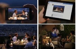 broadcast live depuis Sony Xperia Z1 sur facebook