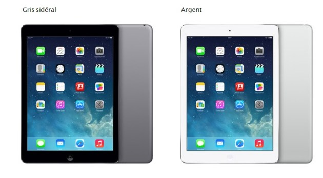 nouveau iPad Air