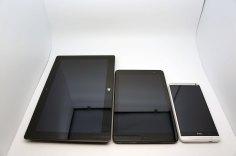 Dell Venue 8 Pro vs. Surface 2 Pro vs. HTC One Max