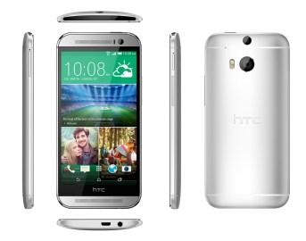 HTC One M8_6V_Silver