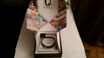 test du smartband Sony