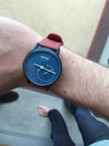 Withings_activite_natation_rouge