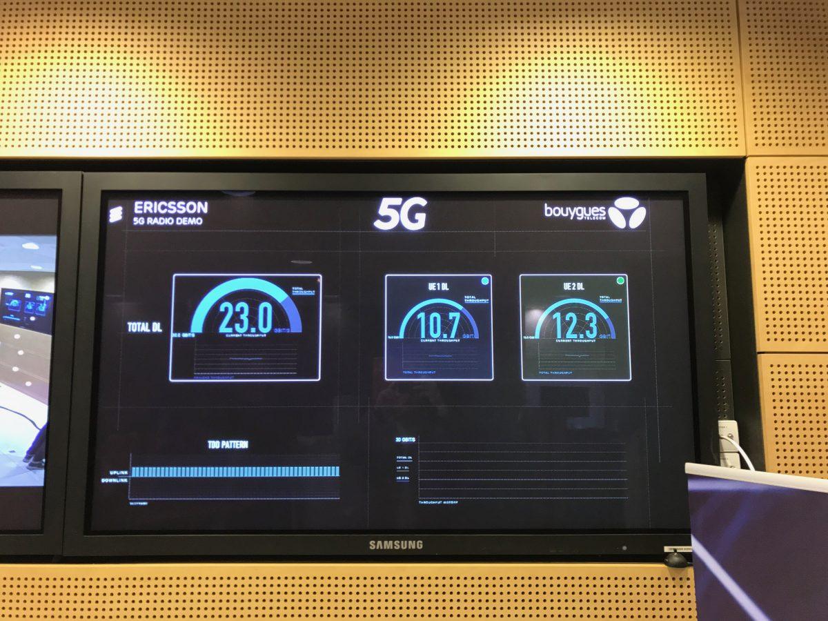 Bouygues Télécom et Ericsson atteignent les 26,5 Gbit/s en 5G