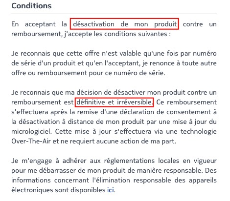 Les ventes de la balance connectée suspendues — Nokia Body Cardio