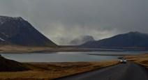 Grundarfjörður around the corner