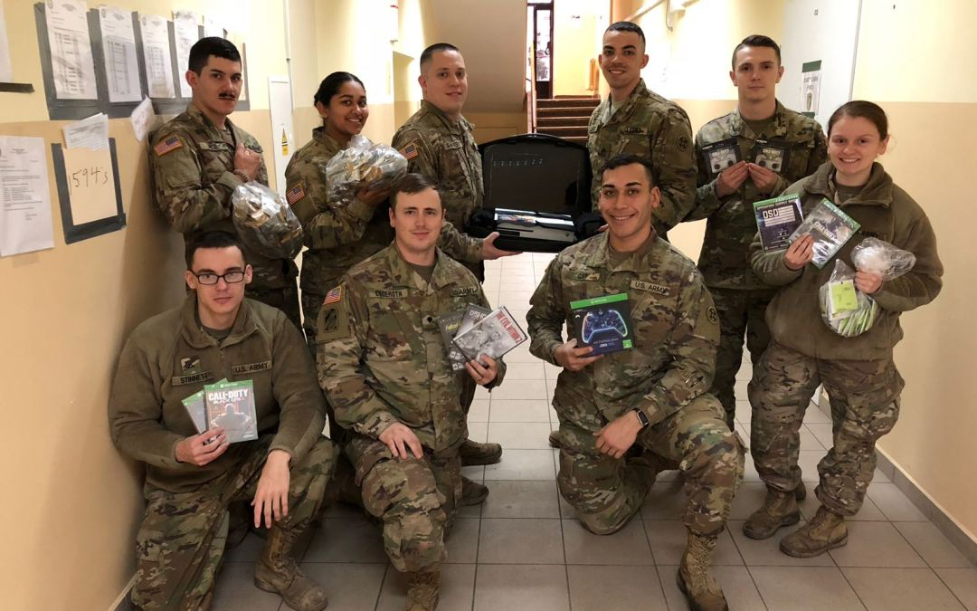 Deployed Soldiers from 125th Transportation Company Thankful for 'Supply Drop' Support from OSD and Partners