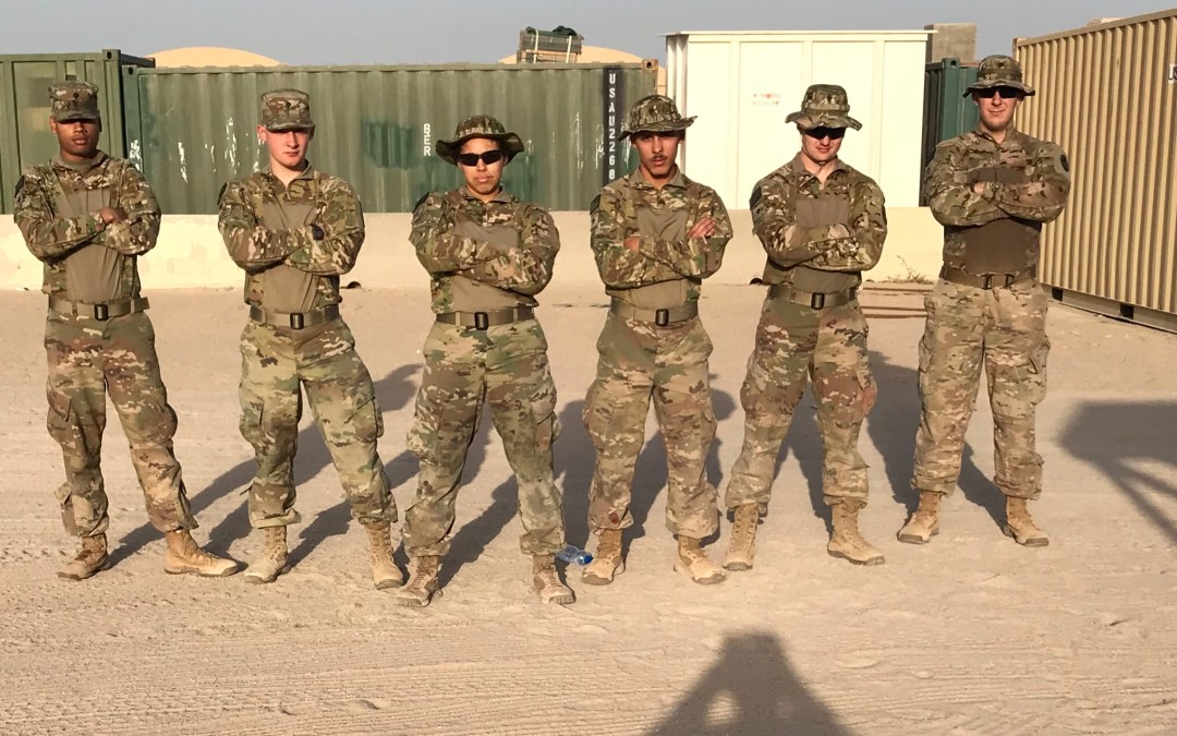 OSD 'Supply Drop' Recharges Army Combat Engineers Deployed to the Middle East