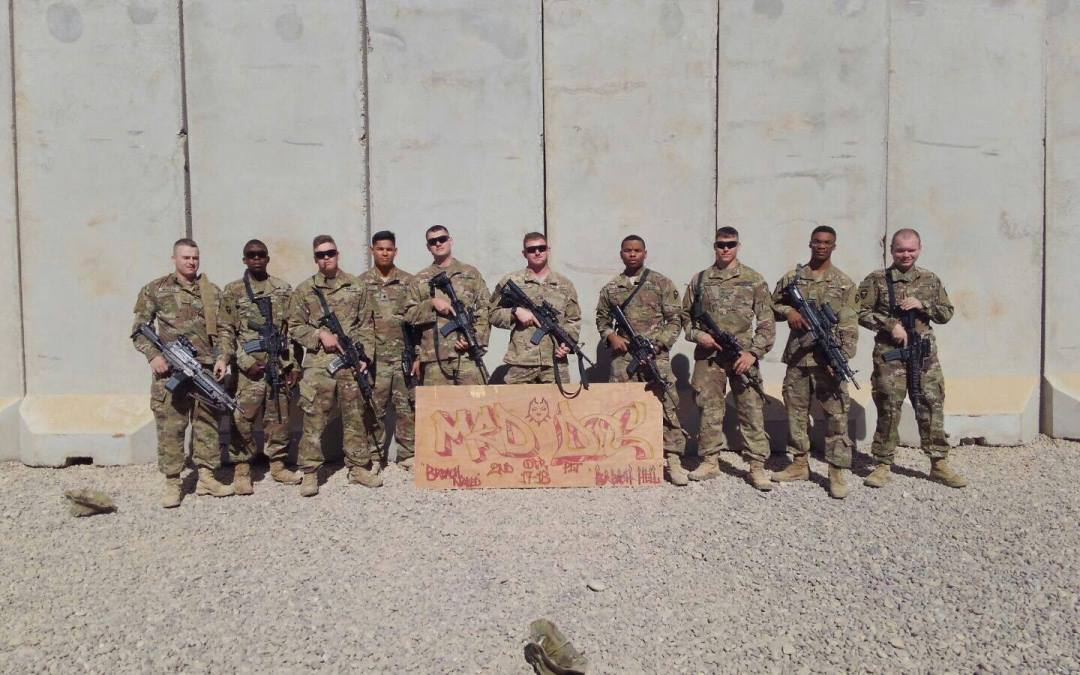 Huge Starbucks Coffee 'Supply Drop' from OSD lands on Target for 10th Mountain Soldiers in Iraq