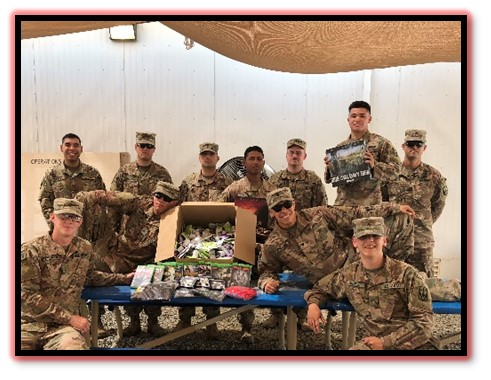 Significant Morale Boost from OSD Arrives for US Army Soldiers Deployed to Undisclosed Location in Middle East