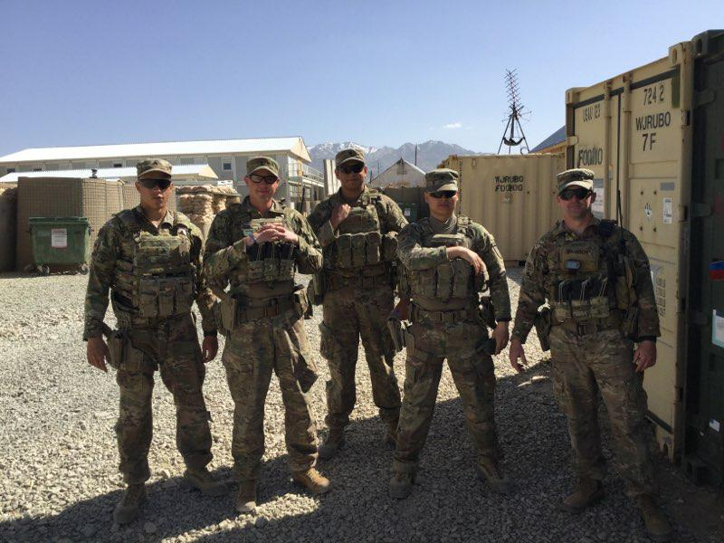 US Army Soldiers Deployed to Afghanistan from Fort Benning, Georgia Relax with Assist from OSD