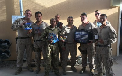 Downtime for Marines Deployed to Afghanistan Enhanced with OSD 'Supply Drop' Support