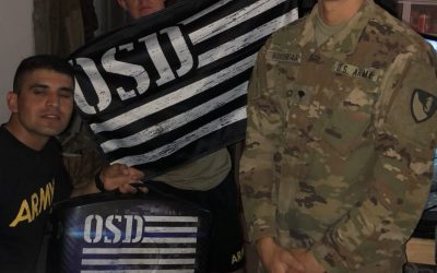 OSD 'Supply Drop' Provides Soldiers in the 20th Engineer Battalion a Way to Rest and Recharge
