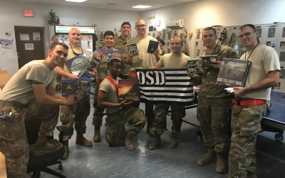 455th Expeditionary Aircraft Maintenance Squadron Deployed to Afghanistan Receives OSD 'Supply Drop'