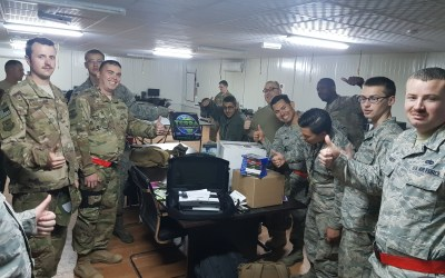 OSD 'Supply Drop' Provides Airmen in the 332nd Air Expeditionary Wing With Some Much Needed R&R