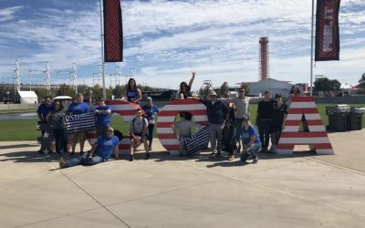 400 Veterans and Military Personnel Experience Formula 1 Grand Prix 'Thank You Deployment' from OSD partnership with Circuit of the Americas and Texas Lottery