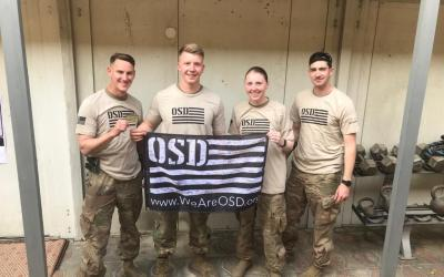 95th Civil Affairs Brigade Gets Morale Boost from OSD Supply Drop Just in Time for the Holidays