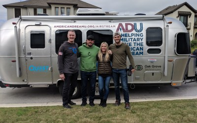 6 Weeks, 1 Airstream, and 4,585 Miles: How Phil Randazzo of American Dream U Meet Veterans Across the Country