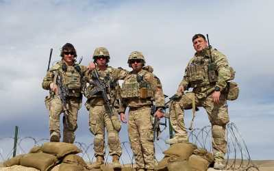 2-14 Infantry Deployed from Fort Drum Receives OSD Supply Drop