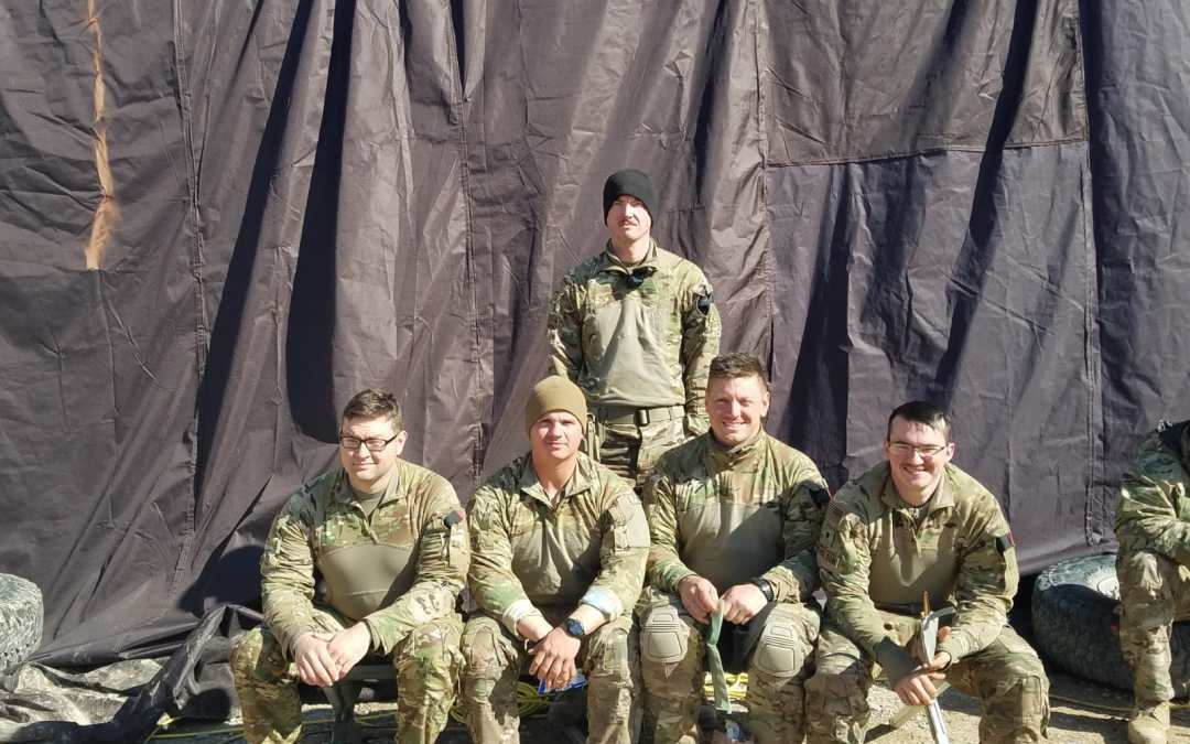 118th Field Artillery Regiment  from Fort Stewart Gets Morale Boost from OSD Supply Drop