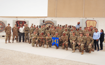 First Time Deployers in 609th Expeditionary Air Communications Squadron Get Morale Boost from OSD Supply Drop