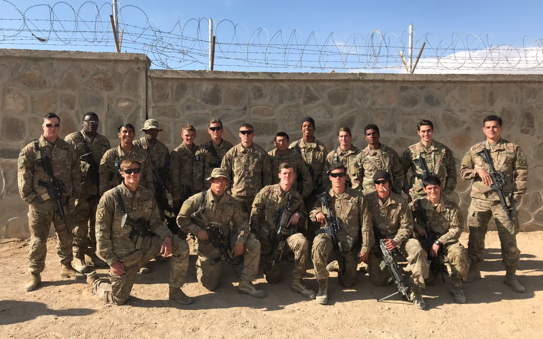 Fort Drum Soldiers Deployed to Afghanistan Enjoying an OSD Supply Drop