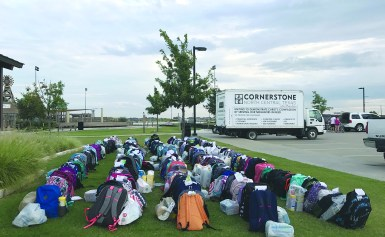 Cornerstone serves 250 students for back-to-school