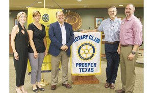 Maher Maso Guest Speaker for Rotary