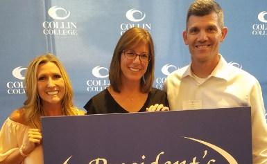Prosper Organizations Honored at Collin College