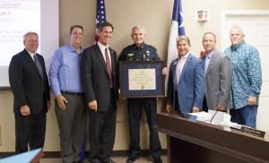 Prosper Police Department Receives Recognition