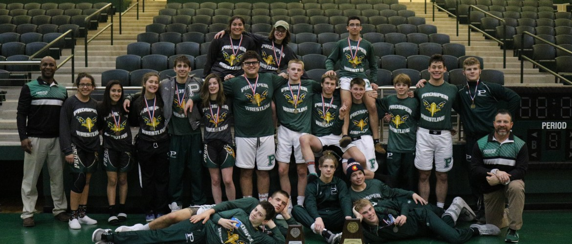 Taking down the competition…Prosper Wrestling Stays on Top During the District II 5A Tournament