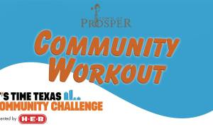 Prosper Community Workout Scheduled for TOMORROW at Frontier Park!