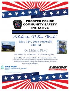 Prosper Police Department's Community Safety Initiative