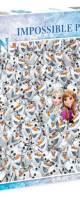 Frozen, 1000p. (Impossible puzzle) - Clementoni