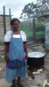 Nongezile, Corn seller