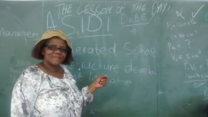 Mrs Gqaleni, Teacher