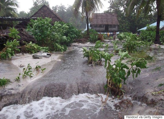 Cyclone Pam Batters South Pacific Islands