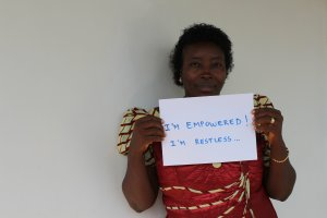 Hawa, Programme Manager for the Youth Sexual and Reproductive Health Programme