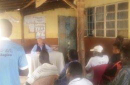 Nik Hartley Restless Development CEO in Sierra Leone