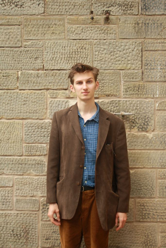 A picture of Henry Roberts, a young climate change activist.