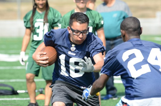 Special Olympics Southern California & Los Angeles Rams FUNdamental Camp & PPK Competition Edward Vincent Jr. Park, Inglewood, Calif., July 8, 2017
