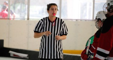 Floor hockey officials STORY