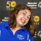 Ramona Parrish - Lompoc HS Unified Basketball Team - Special Oly