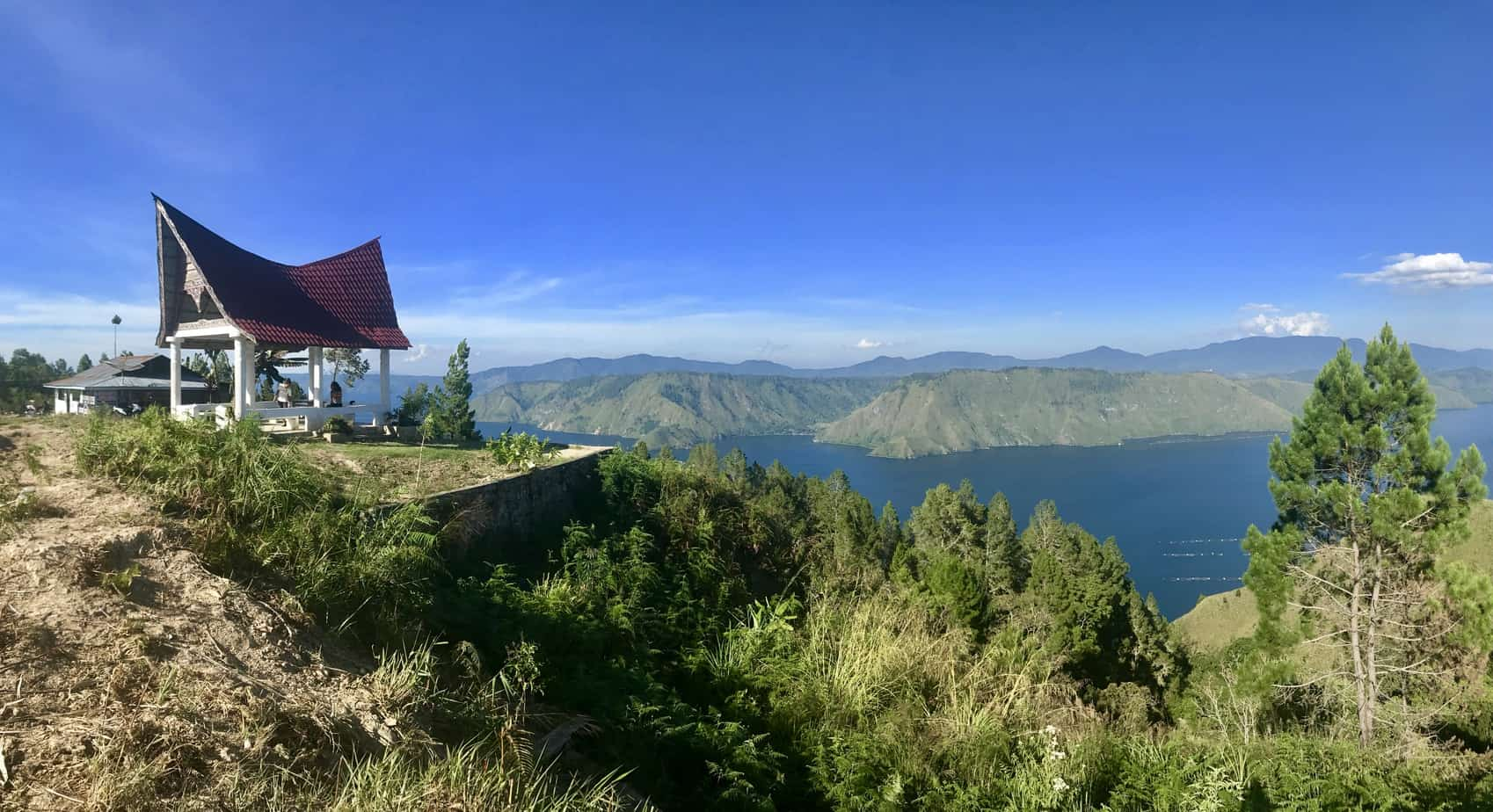 The beautiful Lake Toba, Sumatra, Indonesia