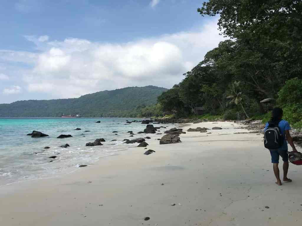 Secret beaches in Pulau Weh